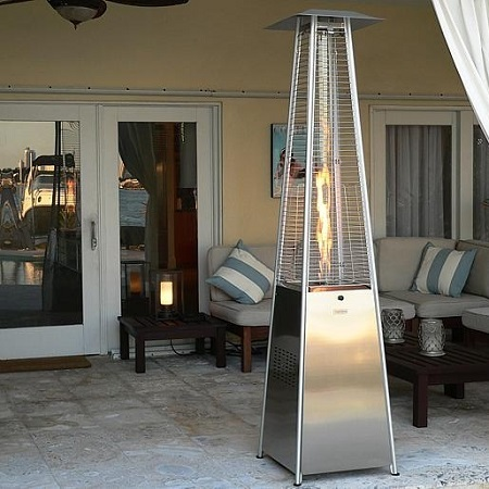 Cool Glass Touch Patio Heater